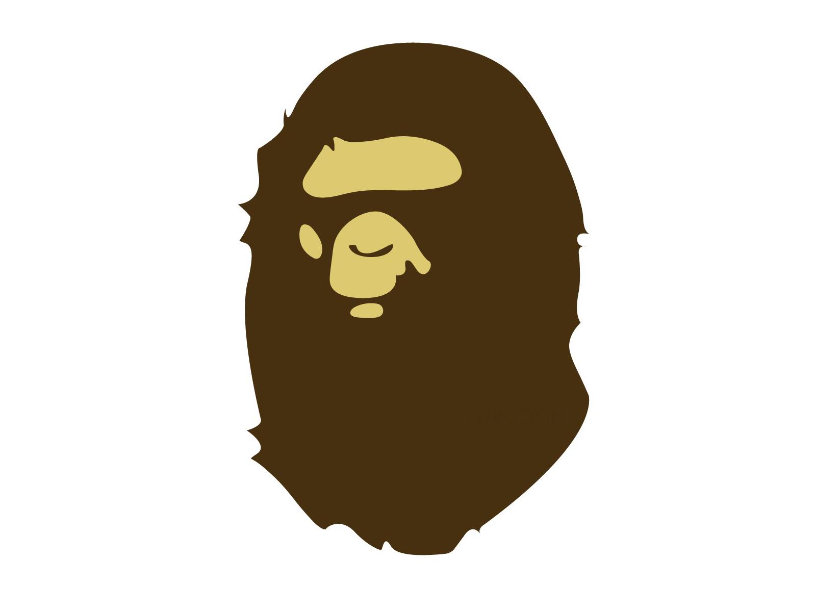 f3dc8e01c77c7 Bape Gorilla Face. Gorilla Face The Ape ...