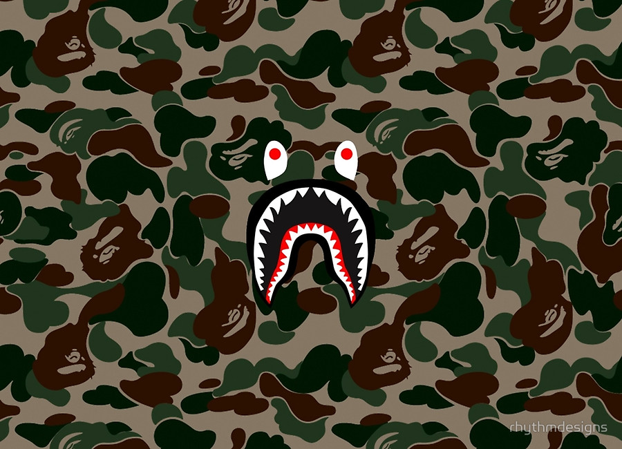 Bape Shark Wallpaper together with C2hhcms as well Camo together with Bape X Adidas Dame 4 Green Camo Release Reminder furthermore dopestudent. on bape shark wgm face