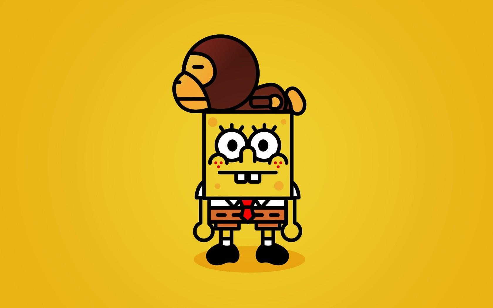 Spongebob and Baby Milo