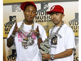 Nigo and Pharrell Williams